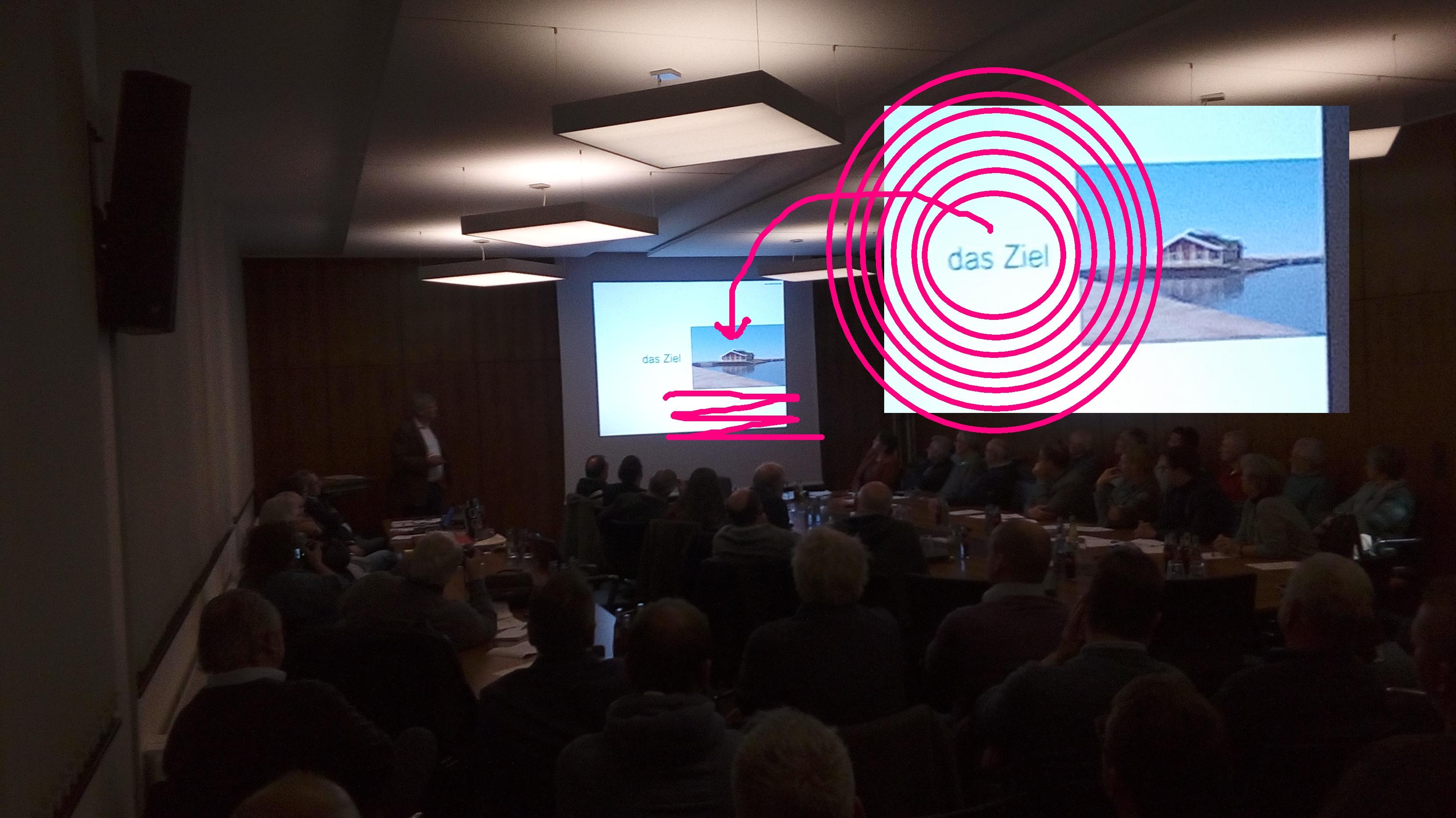 DAS ZIEL -- Projektvorstellung 30.11.2017 GOSCH auf HVB-Traumgrundstück